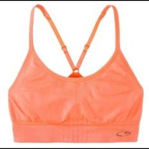 Champion Women's C9 Sports Bra in PINK.